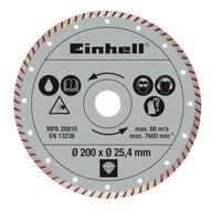 Einhell Diamantschijf Turbo Ø 200 mm