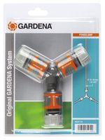 Gardena 3-Wegset 13 & 15 mm