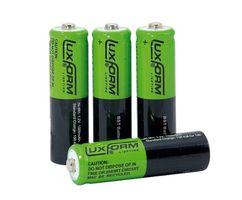 Luxform Oplaadbare Batterij Solar - 4 x AA