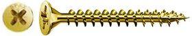Spax Spaanplaatschroeven Geel Pozidrive 4 mm Voldraad