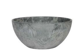 Artstone Bowl Fiona grijs D25 H12