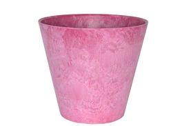 Artstone Bloempot Claire roze D22 H20