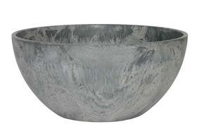 Artstone Bowl Fiona grijs D31 H15
