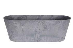 Artstone Balkonbak Claire grijs D55x16 H17