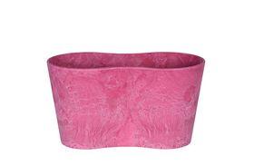 Artstone Bloempot Claire roze D26x13 H14