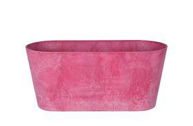 Artstone Balkonbak Claire roze D38x16 H17