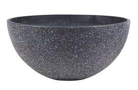 TS Bowl Nova terrazzoblack D55 H23
