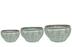 TS Bowl set van 3 Esmee ice green