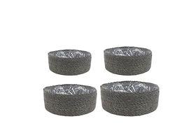 TS Bowl set van 4 Stef grijs