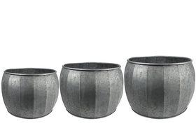 TS Pot set van 3 Mikan metaal