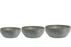 TS Bowl set van 3 Thomas groen