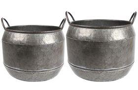 TS Pot set van 2 Mason zwart