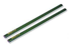 Stanley Potlood Groen 2 Stuks - 17 cm