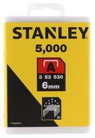 Stanley Nieten Type A 6mm 5000 stuks