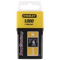 Stanley Nieten Type H 6mm 1000 stuks