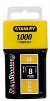 Stanley Nieten Type H 8mm 1000 stuks