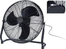 Vloer Ventilator Zwart 56 cm
