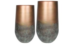 TS Vaas set van 2 Elisa mystic bronze