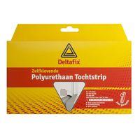 Deltafix Tochtstrip Polyurethaan Wit | 6m x 12mm x 12mm