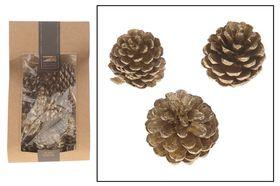 Dijk Natural Collections Blauwe Dennenappel Gold Wash 250g