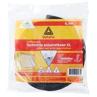 Deltafix Tochtstrip Polyurethaan Grijs | 6.5m x 17mm x 17mm