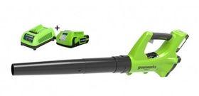 Greenworks Accu Bladblazerset G24ABK2