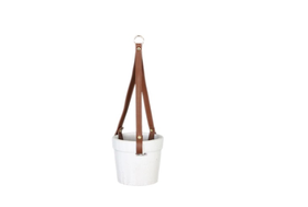 Dijk Natural Collections | Hangende Pot Terracotta Wit S