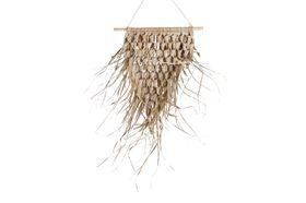 Dijk Natural Collections | Palm Bladeren Mat Wanddecoratie 45 x 55 cm