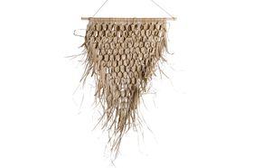 Dijk Natural Collections | Palm Bladeren Mat Wanddecoratie 65 x 75 cm