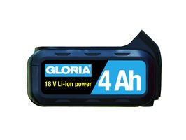 Gloria Losse verwisselbare 18V li-on accu 4.0Ah