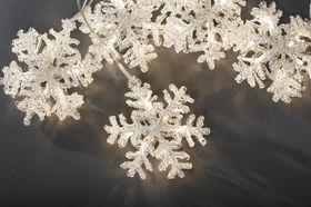 Konstsmide Kerstverlichting LED 5 Sneeuwvlokken | Binnen
