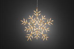Konstsmide Kerstverlichting Acryl Sneeuwvlok | Binnen en Buiten