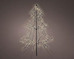 Lumineo LED Kerstboom Metaal 200 cm