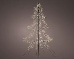 Lumineo LED Kerstboom Metaal 300 cm