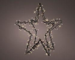 Lumineo LED Kerstster Metaal Met Flashing Effect 400 LED
