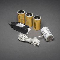 Konstsmide Kerstverlichting Adapter voor Batterij 4x D 1.5V