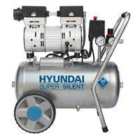 Hyundai Geluidsarme Olievrije Compressor 8 BAR | 24 Liter
