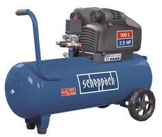 Scheppach Compressor 100L Dubbele Cilinder