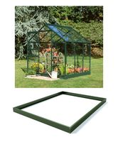 Royal Well Tuinkas en Fundering Popular 66 Groen Gecoat Tuindersglas 3mm