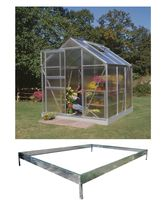 Royal Well Tuinkas en Fundering Popular 66 Blank Polycarbonaat