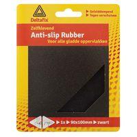 Deltafix Anti-Slip Rubber 90 x 100 mm Zwart