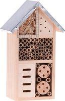 Insectenhotel Hout met Metalen Dak