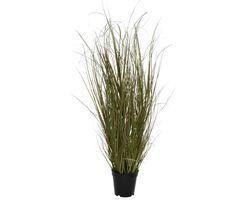Kunstplant Gras in Pot