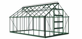Royal Well Tuinkas Bourton 1610 Groen Gecoat Polycarbonaat 6mm