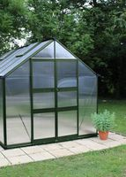 Royal Well Tuinkas Blockley 108 Groen Gecoat Polycarbonaat 6mm