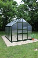 Royal Well Tuinkas Blockley 128 Groen Gecoat Polycarbonaat 6mm