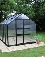Royal Well Tuinkas Blockley 108 Zwart Gecoat Polycarbonaat 6mm
