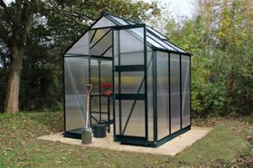 Royal Well Tuinkas Burford 66 Groen Gecoat Polycarbonaat 6mm