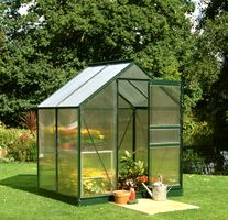 Royal Well Tuinkas Popular 46 Groen Gecoat Polycarbonaat 4mm