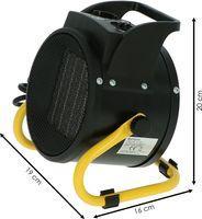 Bellson - Werkplaatskachel compact 2000 watt